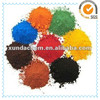thermochromic pigment iron oxide brown