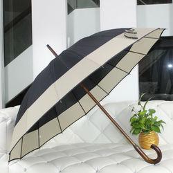 23 Inch*16 Ribs Wooden Straight Umbrella