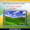 12 inch 800x600 Open Frame LCD TFT monitor with touch screen