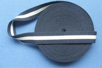 high quality flat cotton webbing / cotton ribbon for waistbelt, handbelt, bag strap, ect.