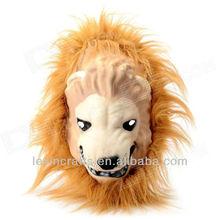13032930 Lion Plush Mask for Cosplay,Halloween Costume