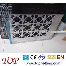steel perforated metal screen/ aluminum perforated metal screen building decorative metal mesh