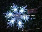 6L LED christmas acrylic snowflake battery lights