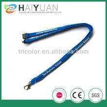 custom tube lanyard with printed logo/2012 hot selling tube lanyard for promotion/professional lanyard factory