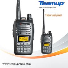 T550 199 channels VHF / UHF handheld radio communication