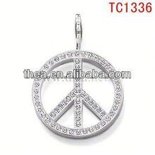 TC1336 cool breeze summer hot sale decorated accesssory latest pendant&charm