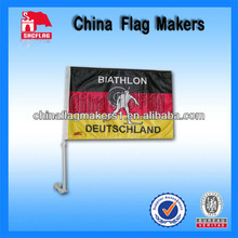 Promotion Customized Polyester Two Sides Printed Car Flags Banners