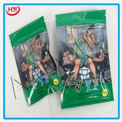W.T.F 4g 10g printed packaging bags/zipper laminated bag/beauty design bag