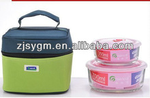 food grade glass container with vacuum lock