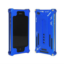 HOT SALE style metal robot case for i phone 5
