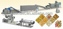 Bugles chips/extruded frying food processing line