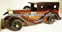 2014 Fashionable wooden craft car model souvenir