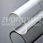 Different sizes clear plexiglass tube