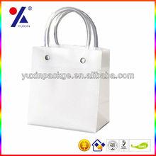 2014 new fashion paper gift bag white paper bag / kraft paper bag party birthday