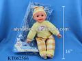 Aly engraçado 16 polegada eletrônico do bebê / boneca de brinquedo com som