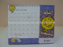 Custom made monthly calendar