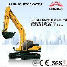 Hyundai R215-7C hydraulic excavator