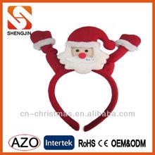 Fashion Holiday party headband christmas snowman /christmas decoration/X'mas party headband for kids