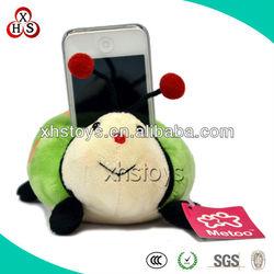 cute soft plush desktop phone holder