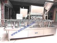 yoghurt filling sealling machine