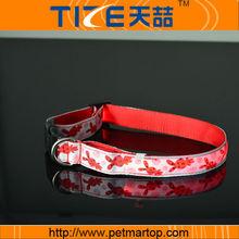"New USB Led Chinese ""Fu"" Character and rabbit collar-PET3700U Pet Collar"
