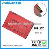 Factory price Accumulator ACCU AKKU Batterie battery For HTC EVO 4G mobile phone