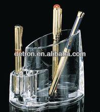 Acrylic pen holder with elegant design a333