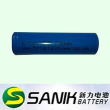 Li-ion 18650 2200mAh 3.7V rechargeable battery