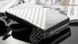 New arrival!!!Rhinestone Wallet,Crystal Purse,With Many Card Slots.Women Handbag