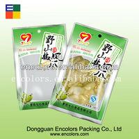 Aluminum foil high-temperature vacuum retort pouch for food packaging/Laminate material flavoring retort pouch/Report food bag