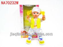 New plastic musical girl dancing doll toys for children 2012