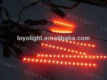 Red led motor strip light kit,12v electric car motor kit