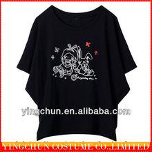 fashionable women long t shirt XXXL t shirts