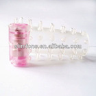 S2032 New Best selling crystal porn doll penis strap,vibrating finger sleeve, sex pictures