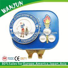 2014 hottest golf ball marker hat clip divot tool