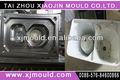 diseño de moldes de inyección de plástico de lavado de la máquina del molde de taizhou
