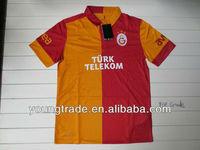 Top Grade thailand quality Galatasaray home 2012 2013 Player version soccer jersey grade original