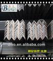 Acero del ángulo/barras de hierro precios/los ángulos de hierro proveedor