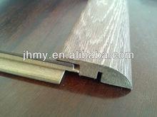 MDF board/carpet reducer for laminate flooring