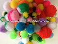 Kits de artesanato cor assorted 5mm-100mm redonda acrílico pompons
