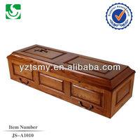 JS-A1010 wholesale quality children wooden caskets
