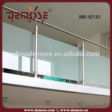 Balustrade en verre / main courante / garde - corps / clôtures conception