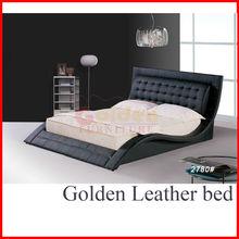 NEW!!! B2780# Modern Platform sofa king size bed designs
