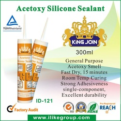 Acetic Silicone Sealant ( TUV certificate ) silicone oil imported from WACKER