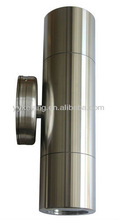 Up down stainless steel IP65 waterproof outdoor lamp