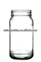 750ml jar glass for food storage