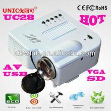 Hottest!!!UC28 mini professional Mini PC projector