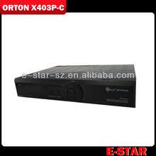 MPEG4 Orton HD X403P Cable Receiver Orton X403P-C