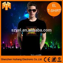 New summer cool led t shirt/led tshirt Online Shopping