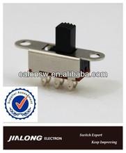 slide switch illuminated actuator